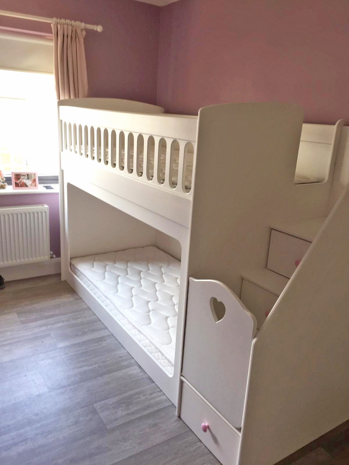 For a first time bed, our Low Brooke Bunk is perfect. It's