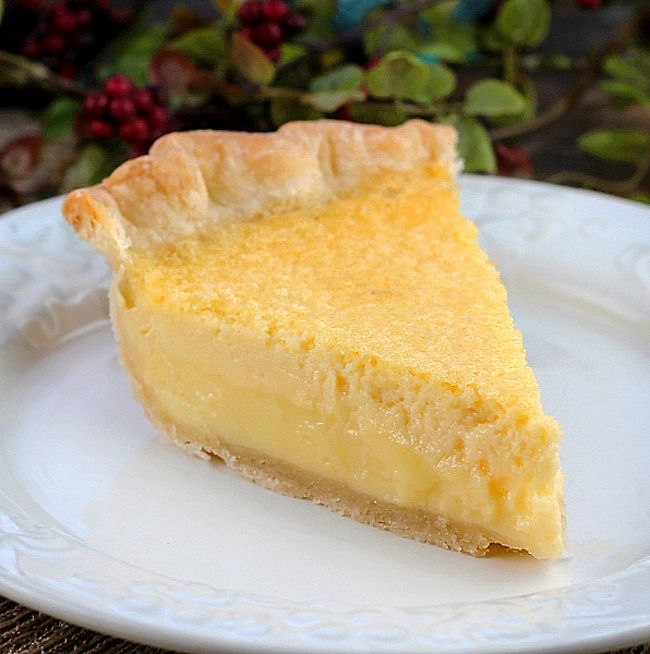 Old Fashioned Buttermilk Lemon Pie Is Creamy With A Lovely Lemon Flavor It S A Very Easy Pie To Make And Will Quickly Lemon Pie Best Coconut Cream Pie Recipes