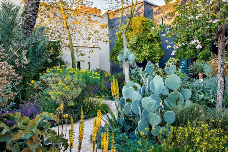 Le Jardin Secret In Marrakesch Offentlicher Garten Garten Marrakesch