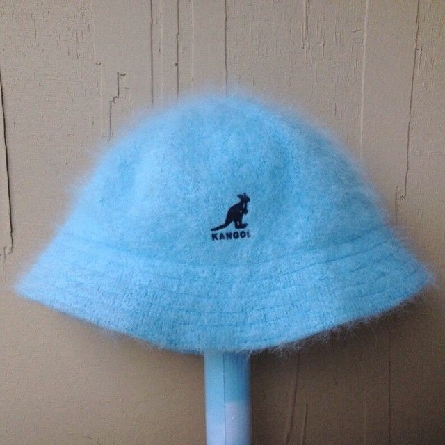 7a60d07b FRONT 💠 90s fuzzy bb blue KANGOL bucket hat 💠 🔜 @shoptelepathy  #SHOPTELEPATHY #vintage #90s #fashion #blogger #kangol #hat #buckethat  #fuzzy #babygirl ...