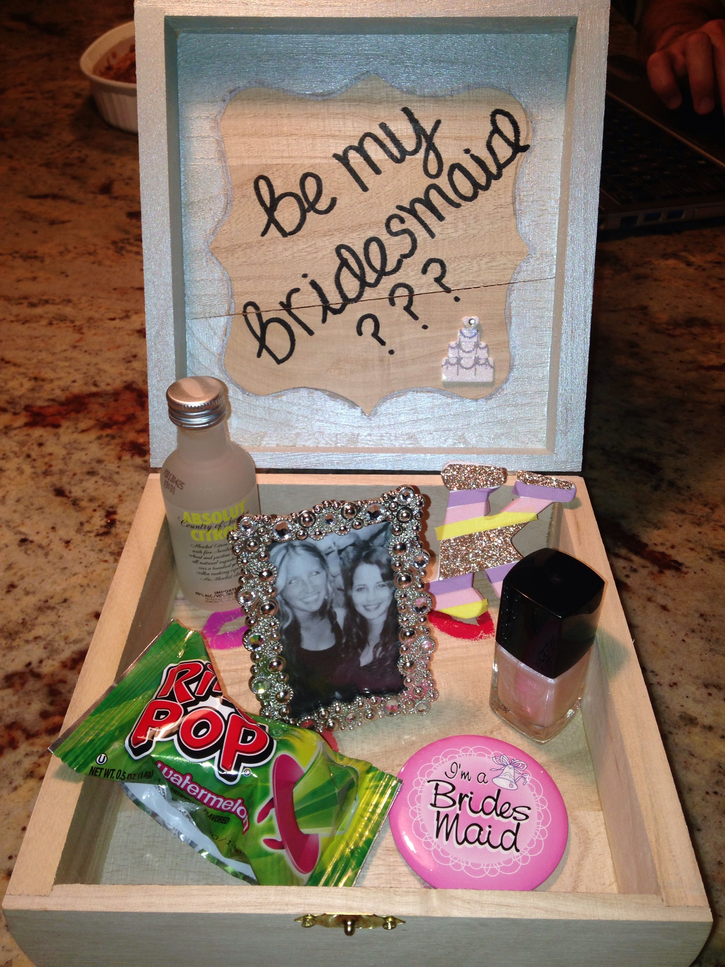 Bridesmaids Boxes This is my favorite box so far Id