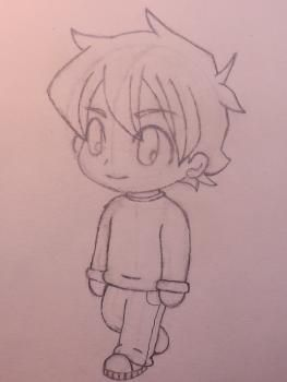Pin By Ayyyeitsamaya On Earth Without Art Is Eh Anime Drawings Boy Easy Chibi Drawings Chibi Drawings