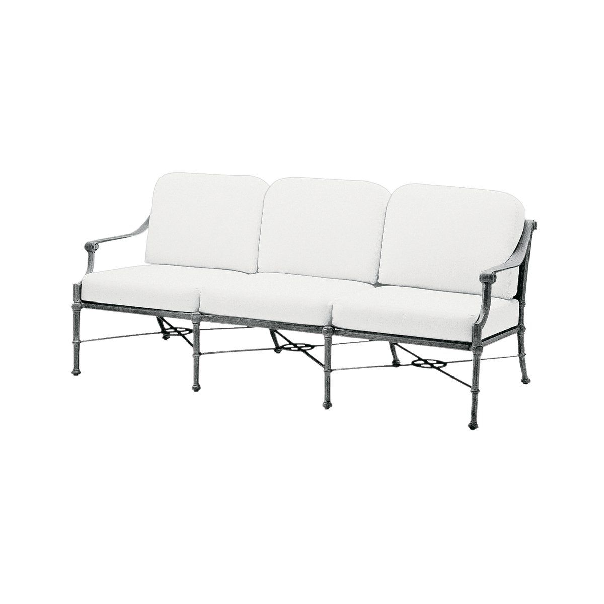 Shop woodard 850620 delphi outdoor sofa at atg stores browse our outdoor sofas all with free shipping and best price guaranteed