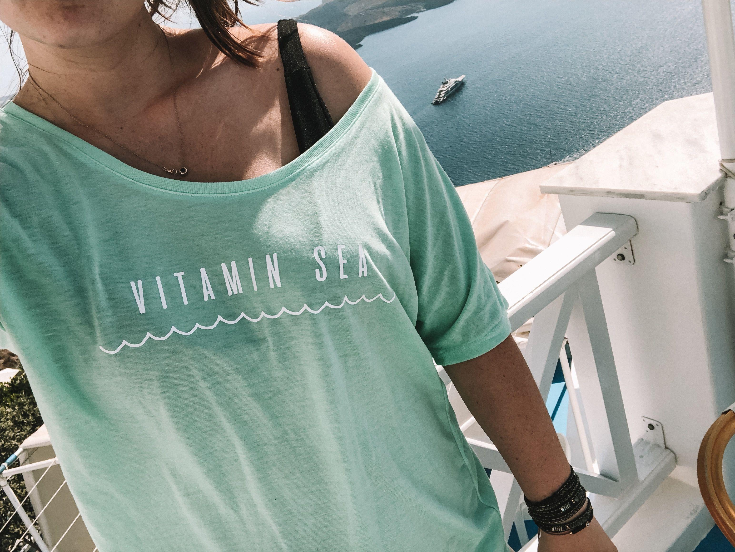da083697 Women's Beach Vacation Shift, Vitamin Sea Shirt, Beach Vacation Outfit, Women's  Beach Outfit, Women's Beach T-Shirt, Beach Vacation Outfit Ideas, ...
