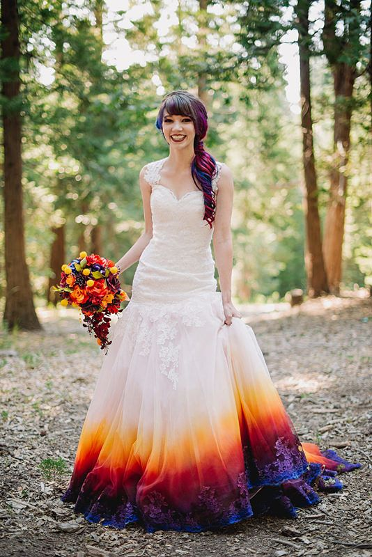 unschlagbarer Preis exquisite handwerkskunst suche nach dem besten Dieses Airbrush-Hochzeitskleid wird Deinen Pinterest-Feed ...