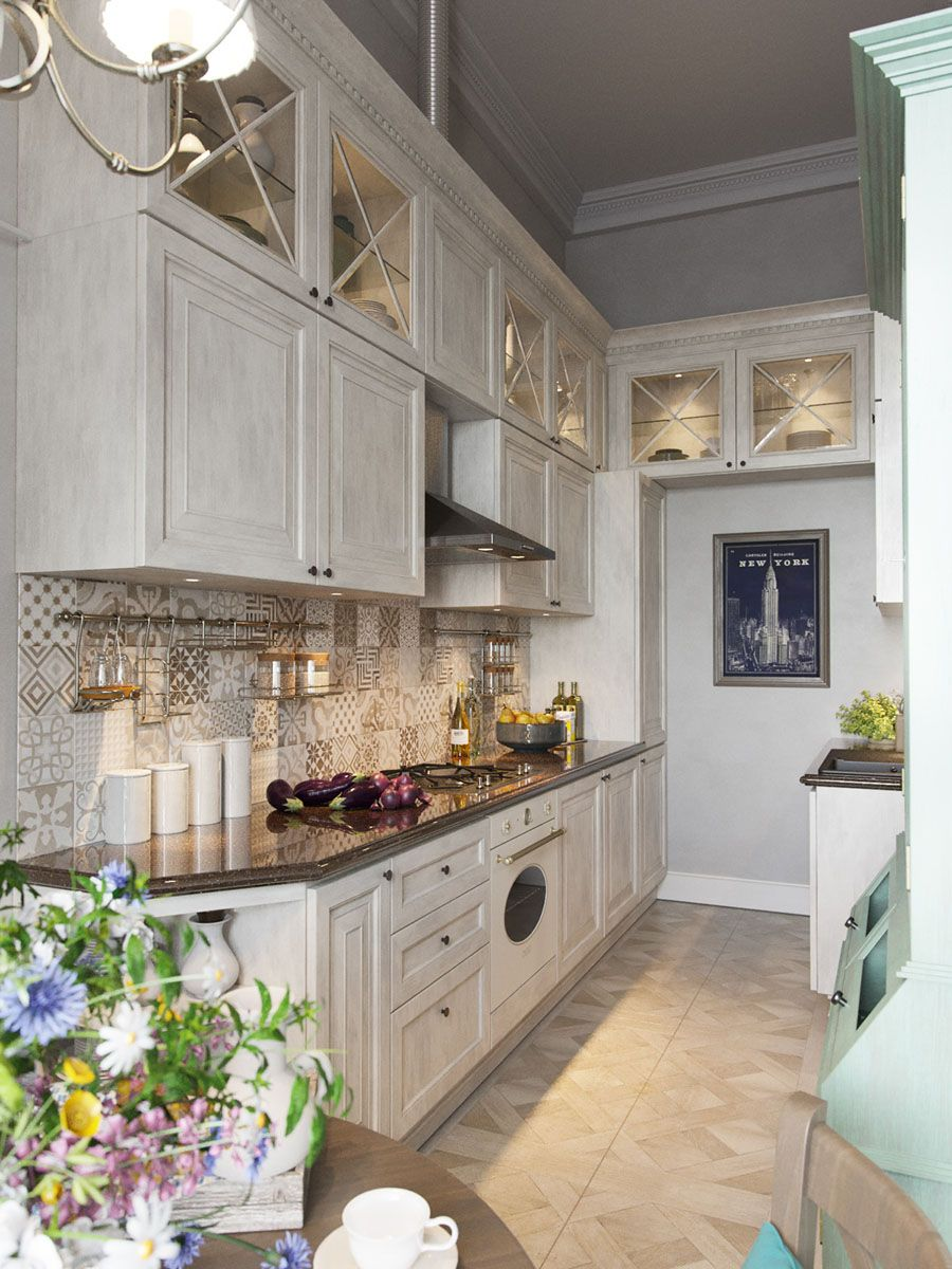 Кухня в стиле прованс: 24 фото + идеи   Кухня в ...