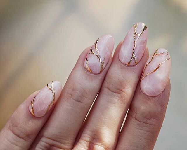 50 Incredible Marble Designs to Upgrade Your Manicure
