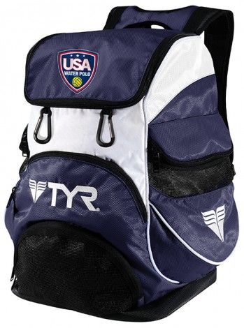 4a2ab394f70 USA Water Polo Alliance Backpack - Bags - Equipment   TYR   Water ...