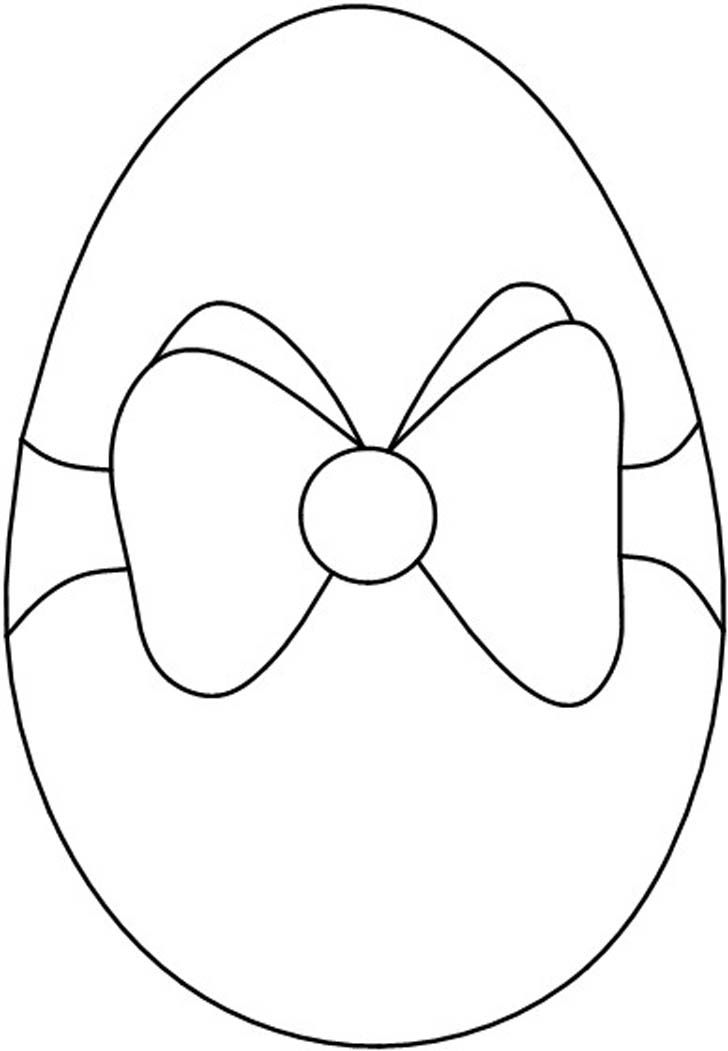 Bow Tied Easter Egg Stain Glass Patterns Easter