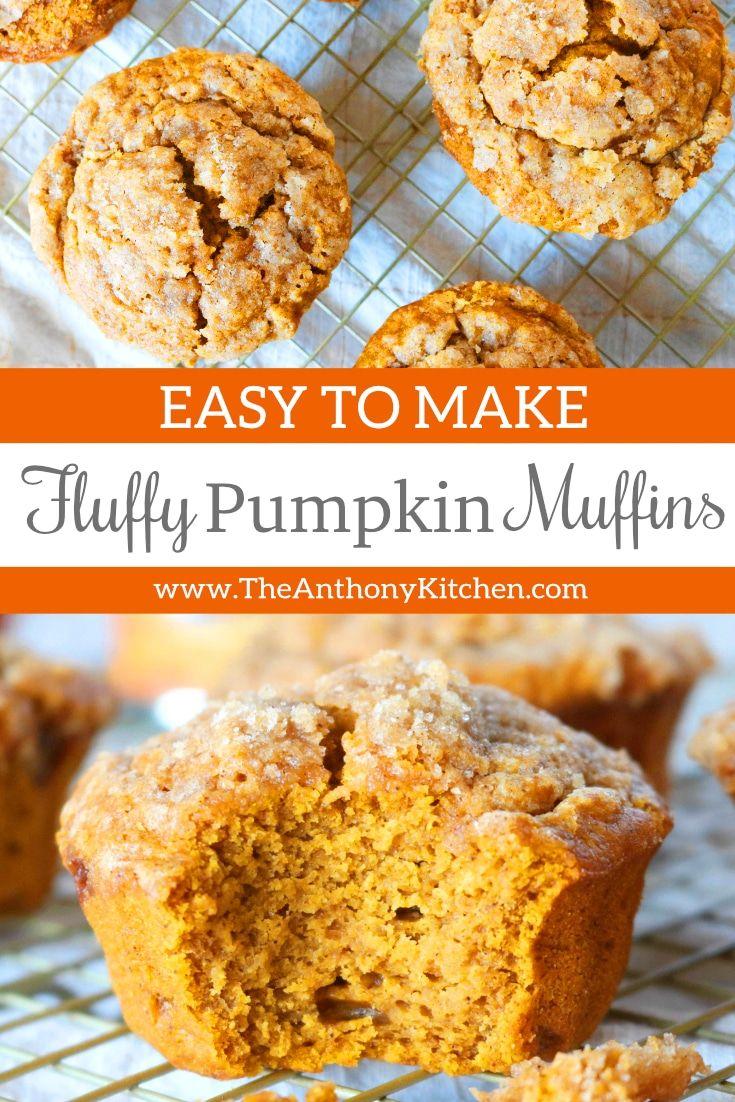 Spiced Pumpkin Muffins #pumpkinmuffins