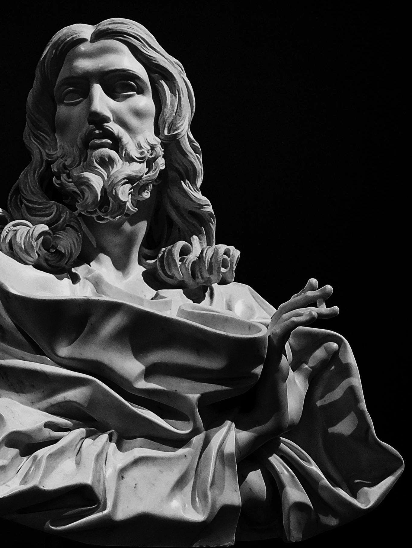Salvator Mundi, Bernini | Jesus statue, Portrait sculpture ...