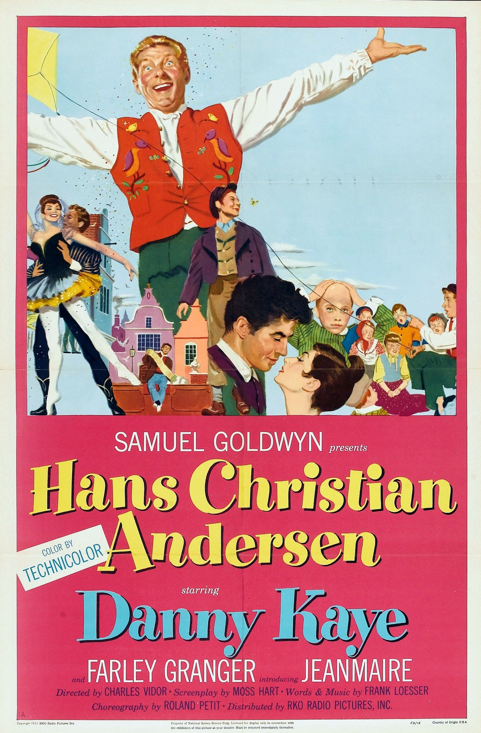 Hans Christian Andersen 1952 Country United States Director