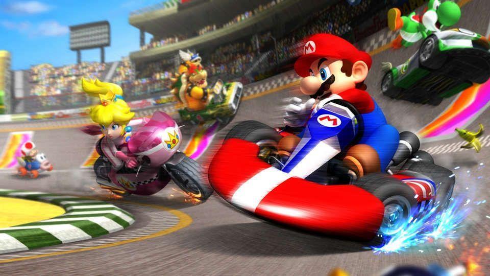 GameSpot Waluigi And More Join Mario Kart Tour For