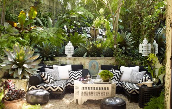 Deco Jardin Terrasse Exotique