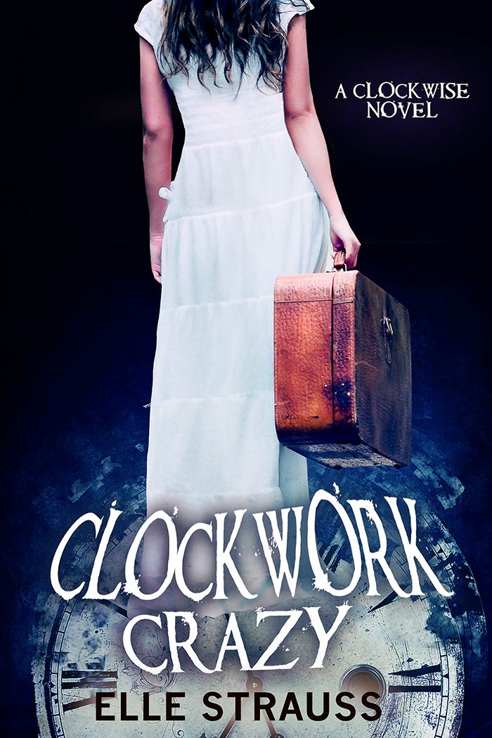 Cover Reveal for CLOCKWORK CRAZY - see it here first!