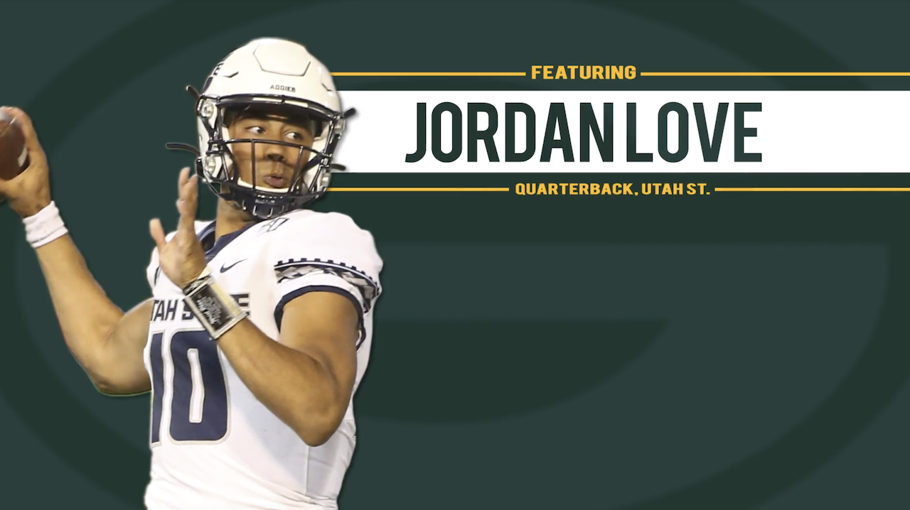 Chtv Draft Guide Prospect Spotlight Jordan Love Qb Utah State National Football League News In 2020 Nfl News National Football National Football League