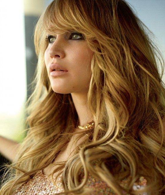 La actriz Jennifer Lawrence en ELLE Magazine para Estados Unidos (Diciembre de 2012)