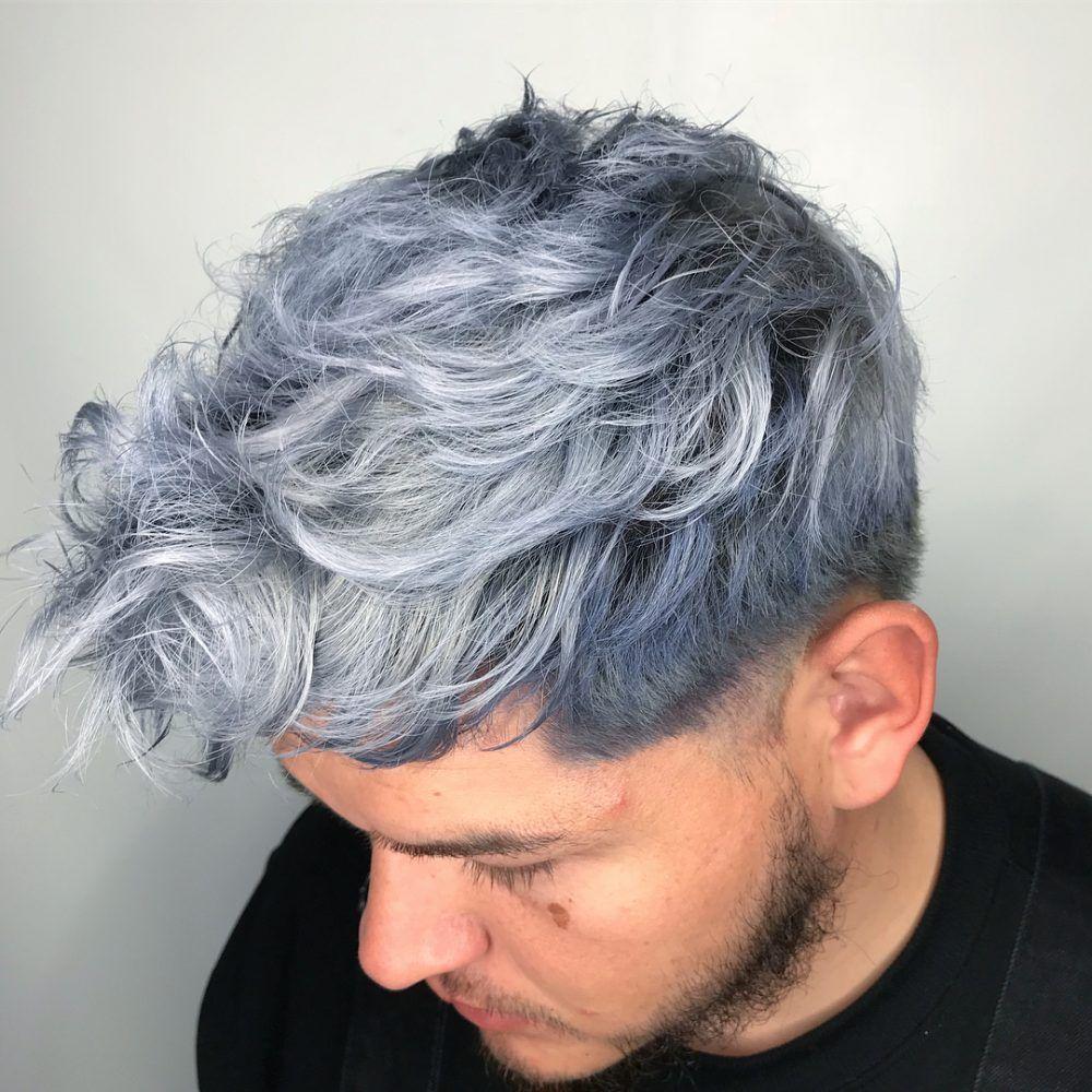 29 Coolest Men S Hair Color Ideas In 2020 Men Hair Color Mens Hair Colour Dyed Hair Men