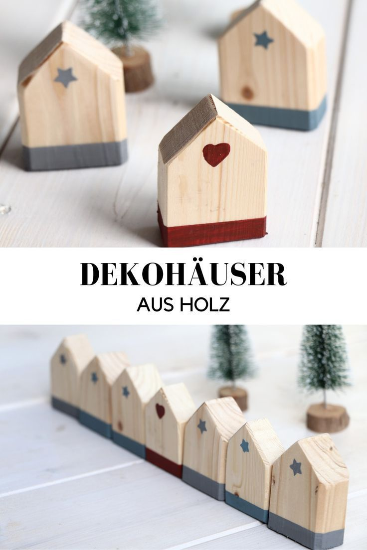 Photo of DIY: Holzhäuser basteln – Lavendelblog