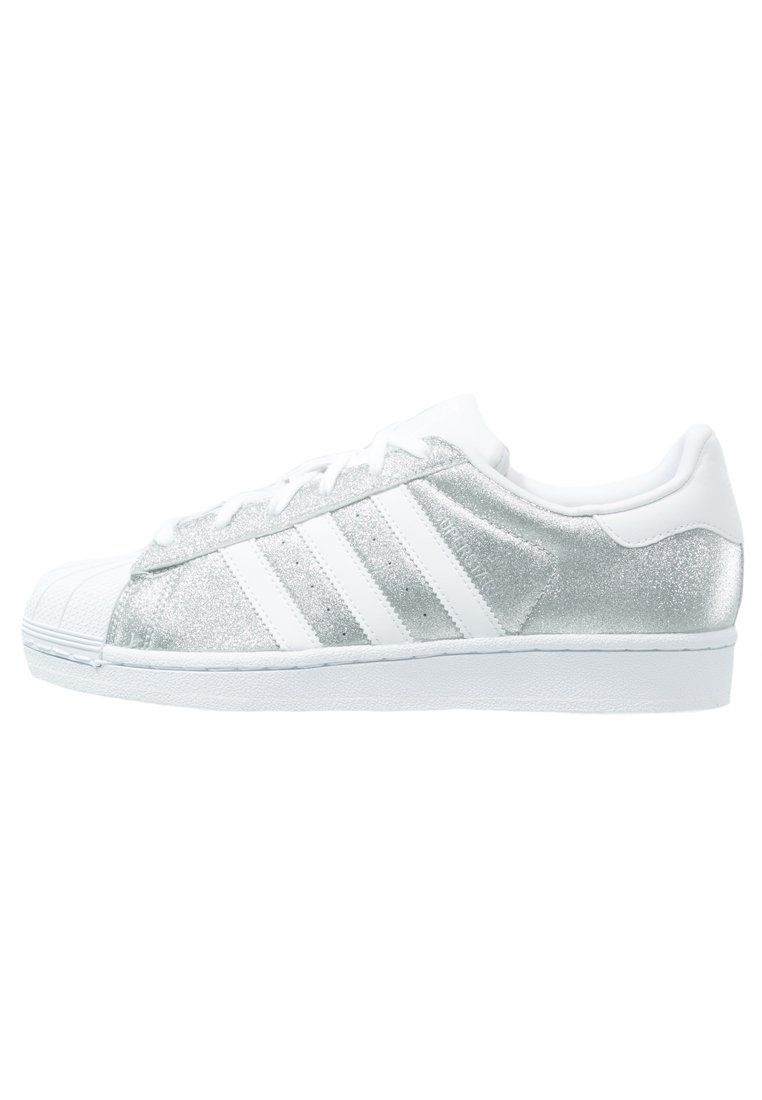 adidas originals superstar zapatillas silver metallic/white