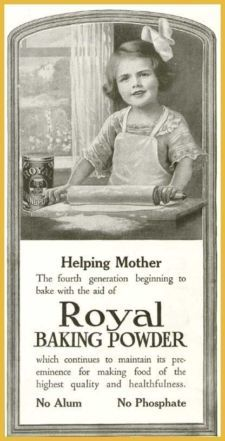 1914 Royal Baking Powder Advertisement Collectibles