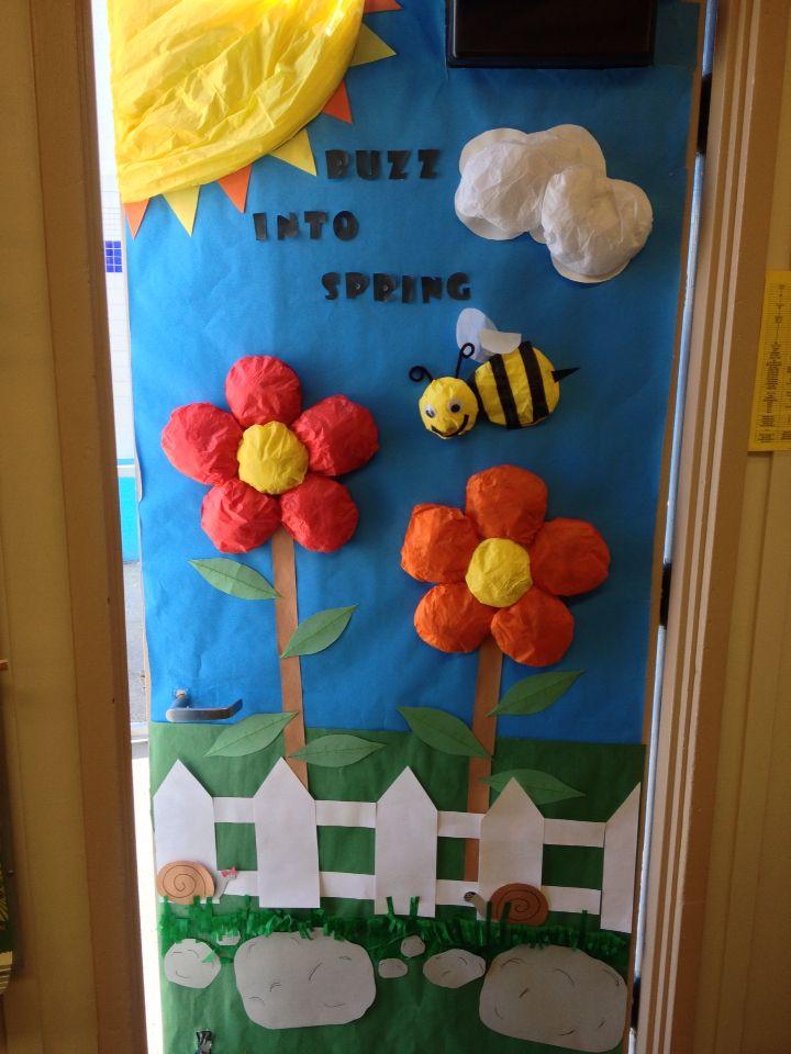 Spring Classroom Door Spring Door Decoration Door