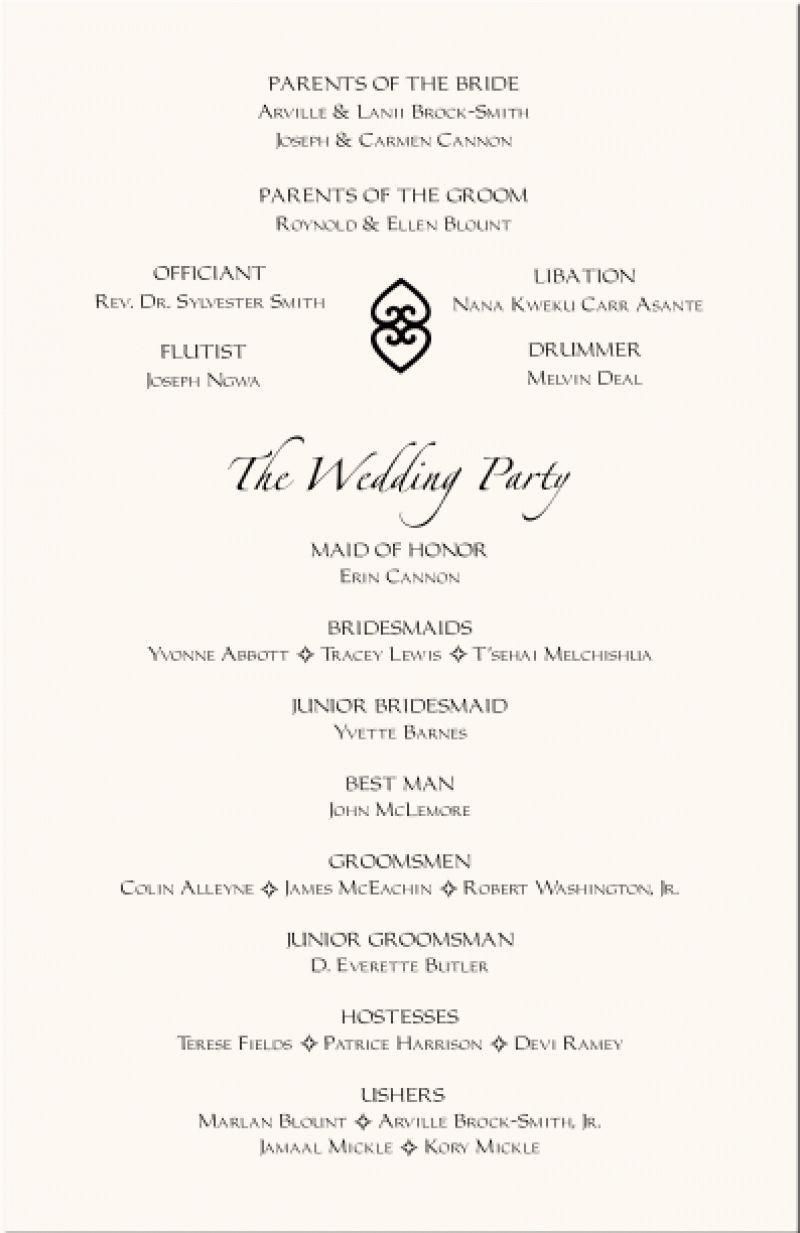 Pin By Sylvia Bleesing On Flower Frame Wedding Reception Program Wedding Programs Template Wedding Ceremony Programs