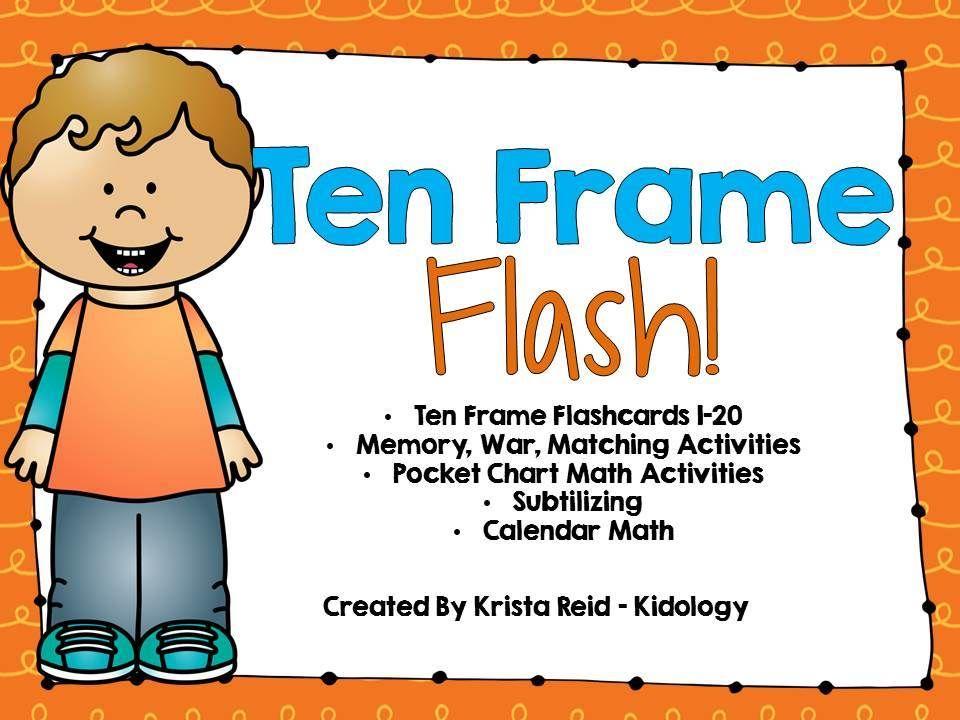 Ten Frame Activities | My Teachers Pay Teachers Store | Pinterest ...