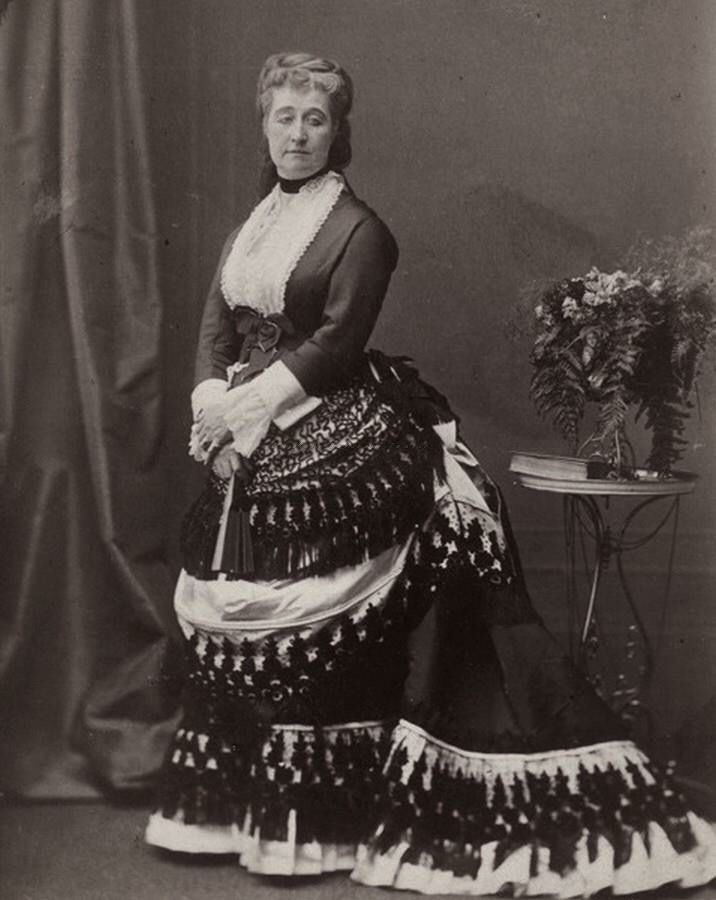 Empress Eugenie in the 1870s