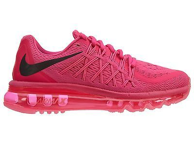 promo code 21c84 276a0 Nike Air Max 2015 Womens 698903-600 Pink Foil Pow Mesh Running Shoes Size 6