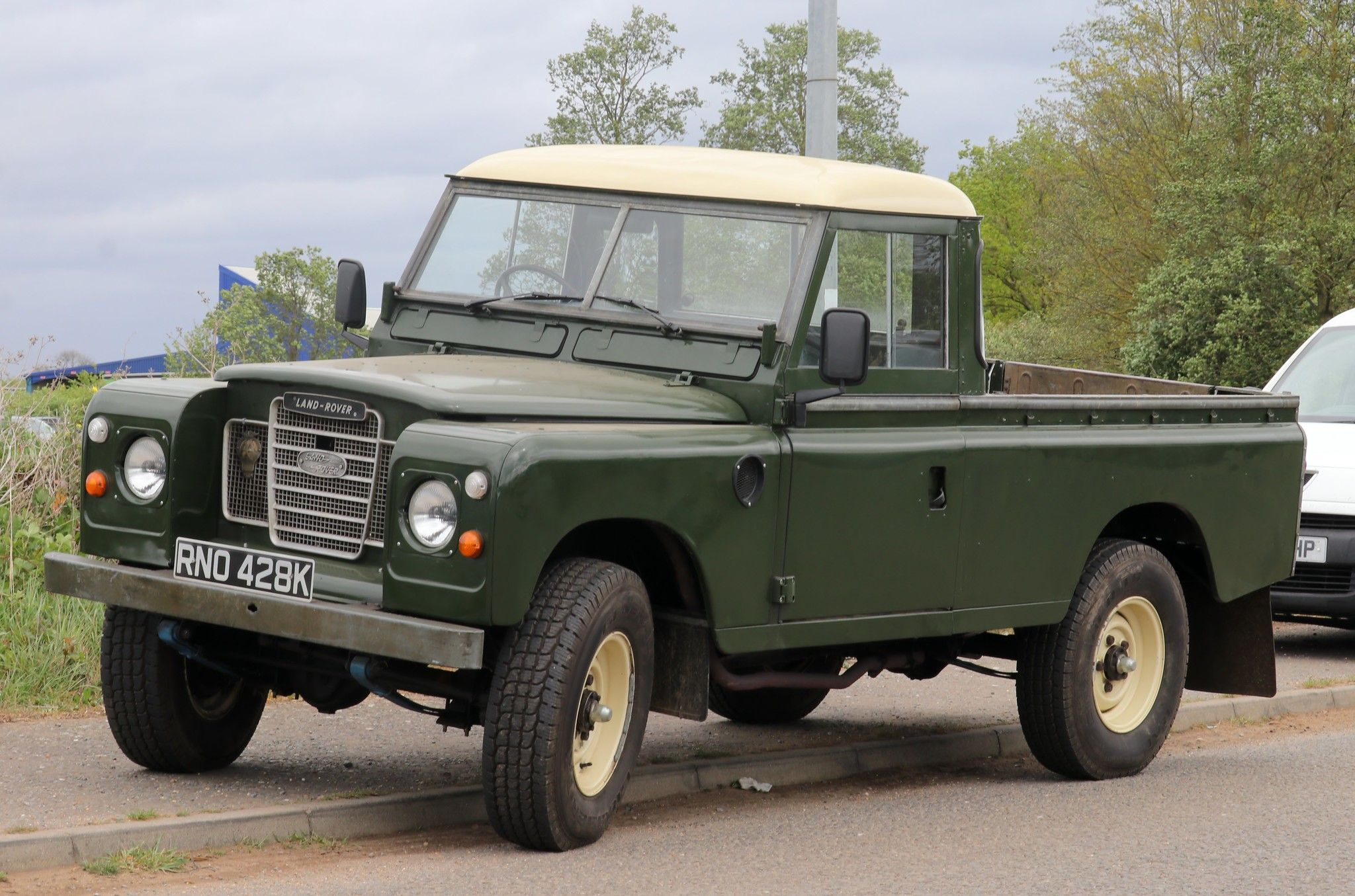 Rno 428k Land Rover Pick Up Land Rover Defender Land Rover Series