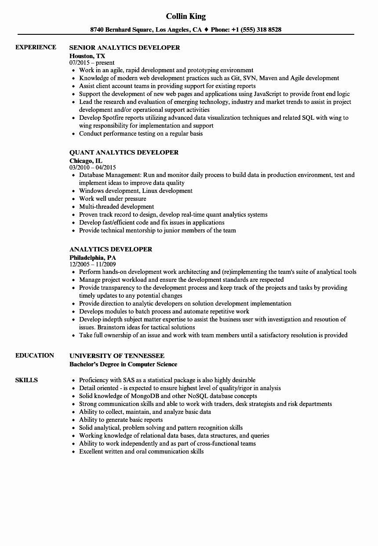 Business Intelligence Developer Resume Lovely Power Bi Developer Cv The Best Developer In 2020 Business Intelligence Job Resume Samples Resume