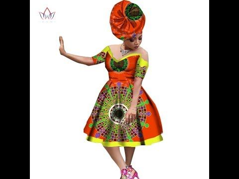 455413ed519 African Designs Dresses  2018 Latest Incredible