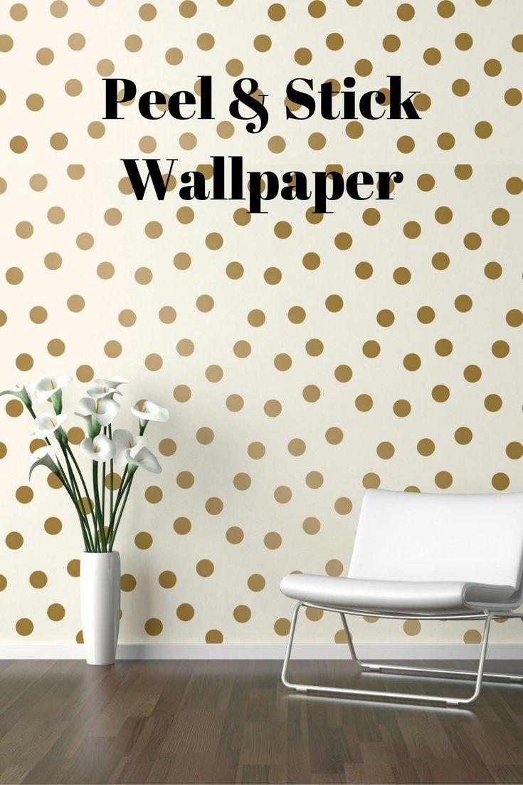 Devine Color Dots Peel Stick Wallpaper Karat Ad Beautiful Bedrooms House Design Bedroom Decor