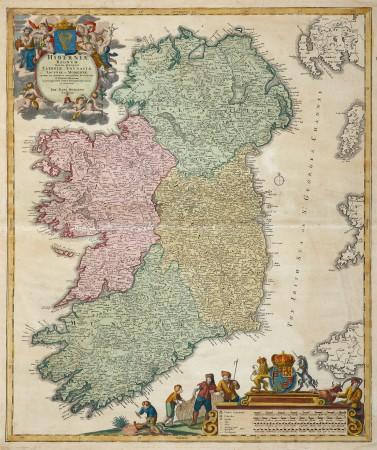 Hiberniae Regum tam in praecipuas.... [Ireland] #britishisles