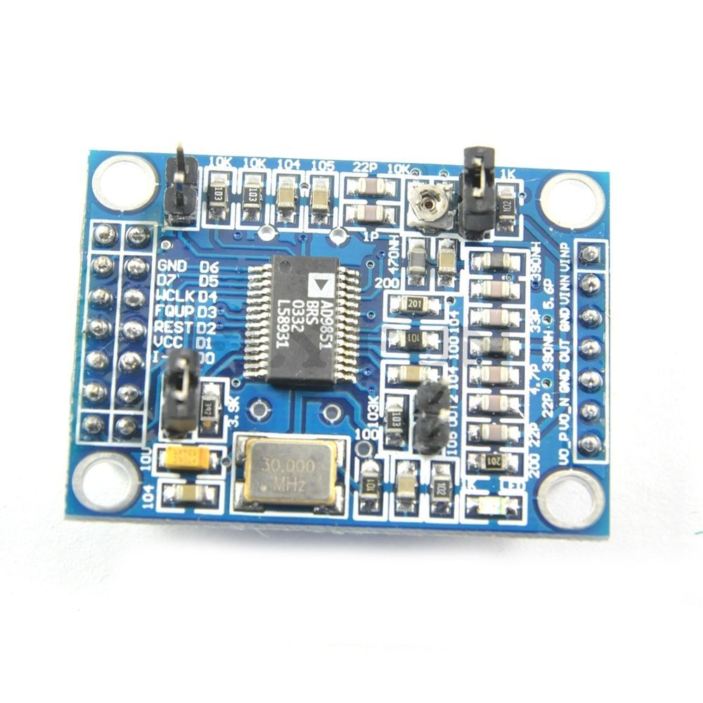 DDS Signal Generator Module AD9851 0-70 MHz 2 Sine Wave and 2 Square
