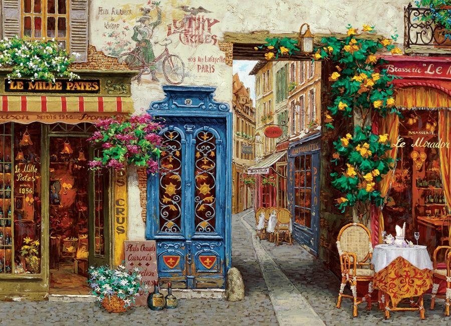 1000pc Rue Lafayette jigsaw puzzle | Cobble Hill Puzzle Company ...