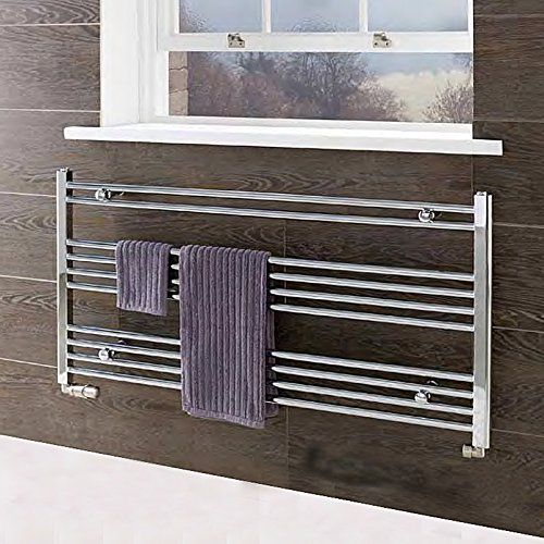 Wendover Under Window Towel Radiator (Short Towel Rail) 600mm x ...
