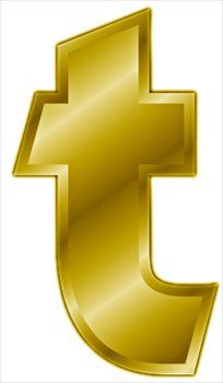 free letter t clip art free gold letter t clipart