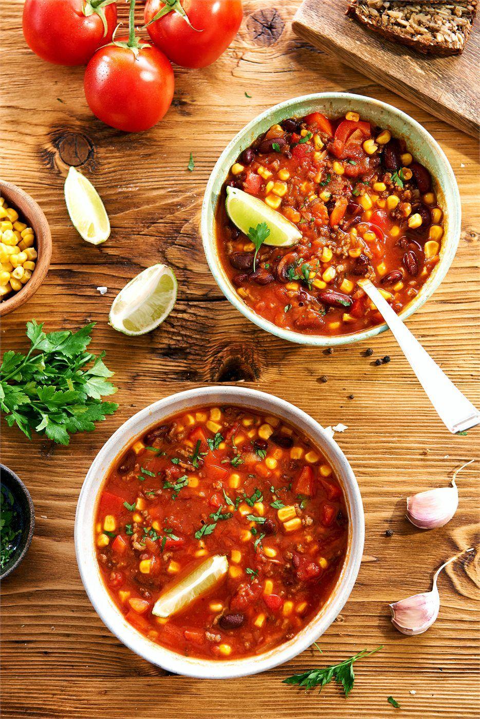Zupa Meksykanska Z Miesem Mielonym Homemade Soup Recipe Food Delicious Soup