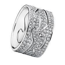 diamond platinum luxury customizable wedding ring in personal design by georg jensen - Customize Wedding Ring