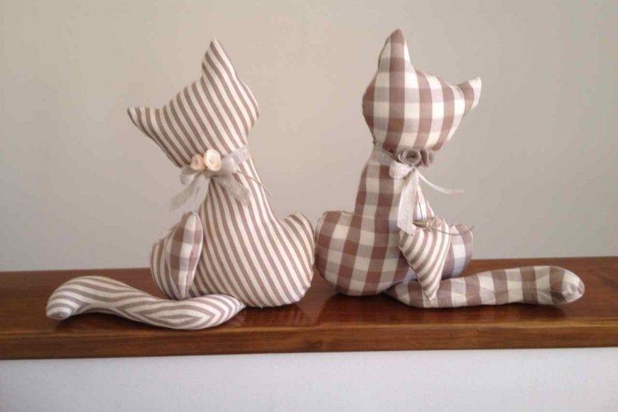 cartamodello gatto fermaporta cose da comprare cat crafts felt