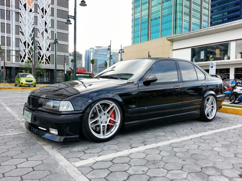 bmw e36 3 series black on ac schnitzer wheels bmw ultimate driving machine pinterest bmw. Black Bedroom Furniture Sets. Home Design Ideas
