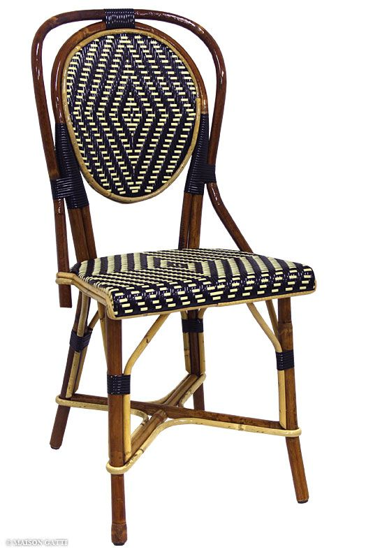 Exceptional Maison Gatti | The Quintessential Parisian Bistro Chairs