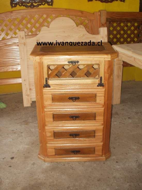 Muebles rusticos muebles rusticos for Bar rustico de madera