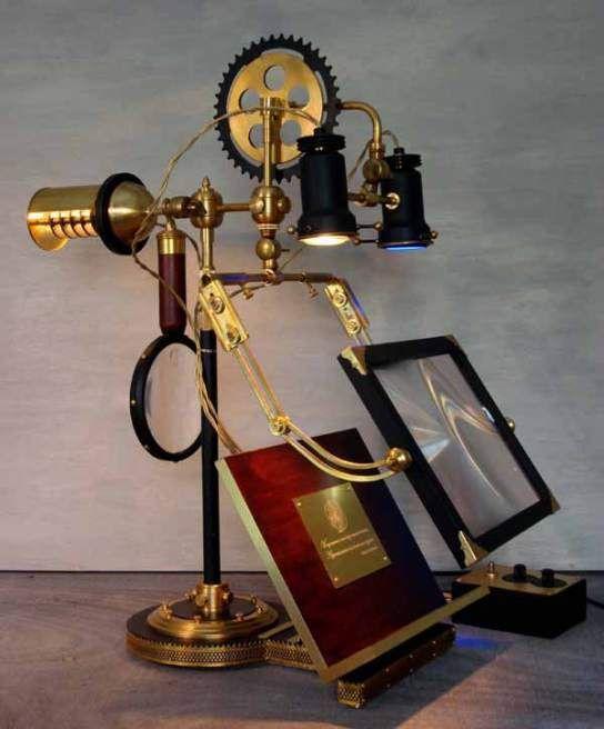 Steampunk Lamps 6