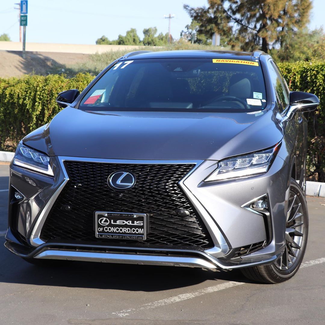 Get behind the wheel of this stunning 2017 Lexus RX 350 F
