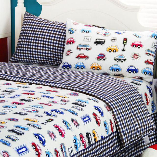 Cartoon Car Home Textiles Teenager,twin Full Queen King Cotton Boys Crib,kid  Cute Single Double Bed Sheet Pillowcaes Duvet Cover