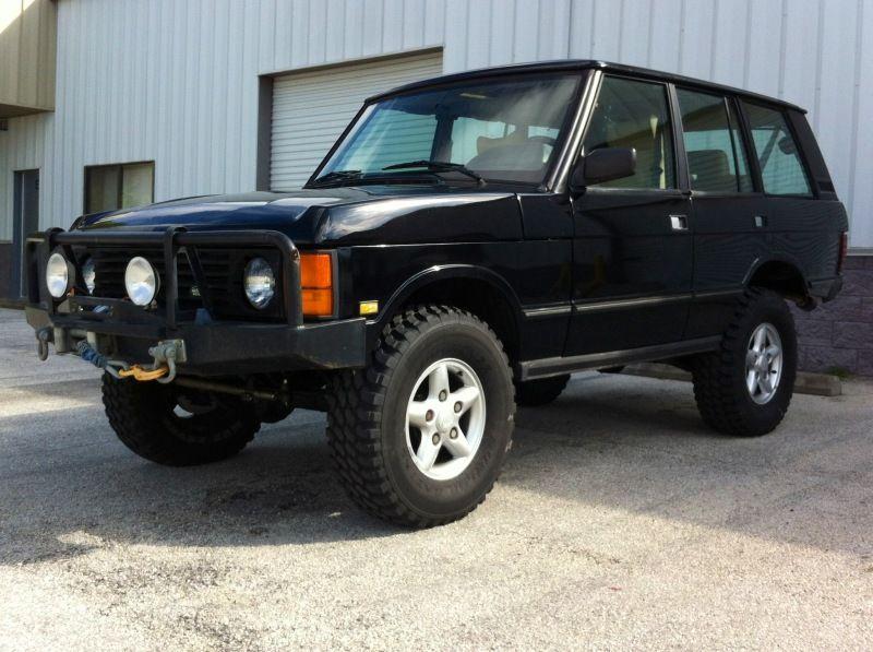 95 Classic Build | Carritos | Range rover classic, Range