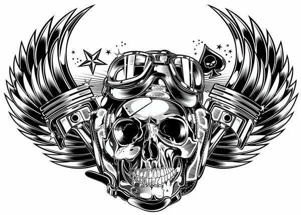 skull pistons harley davidson i love this wow this has my name all over it i. Black Bedroom Furniture Sets. Home Design Ideas